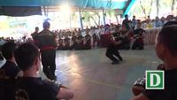 """""""Mãn nhãn"""" với công phu của đệ tử võ sư Huỳnh Tuấn Kiệt"""