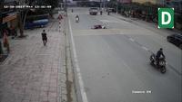 Trích xuất camera truy tìm thanh niên tông cô gái ngã nhào rồi bỏ chạy