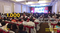 Hàng ngàn người Sài Gòn bốc thăm để được mua nhà ở Phú Mỹ Hưng