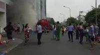 Máy bơm bất ngờ bốc cháy trong hầm chung cư vụ cháy 13 người chết