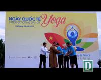 Đồng diễn Yoga ở Công viên Biển Đông - Đà Nẵng
