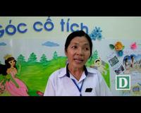 Cô Nguyễn Thị Phượng Hải chia sẻ niềm vui dạy học trò mầm non