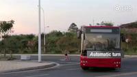 Xe buýt điện không người lái đầu tiên trên thế giới