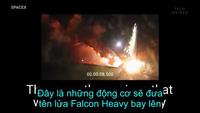 Cùng xem Space X thử nghiệm động cơ tên lửa uy lực nhất từ trước đến nay