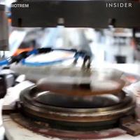 Một công ty Ba Lan chế tạo đĩa có thể ăn được