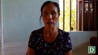 Con gái cụ Thành bức xúc vì bị cưỡng chế lối đi của mẹ liệt sỹ.
