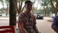 Anh Nguyễn Cảnh Toàn bức xúc trình bày sự việc.