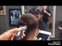 """9X cắt tóc thành chân dung 3 diễn viên chính phim """"Người phán xử"""""""