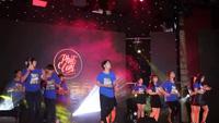 Đội Tình nguyện xung kích HV Báo chí tuyên truyền nhảy flashmob