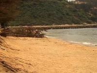 """Bình Định: 40 mét bờ biển bị """"nuốt"""", dân nơm nớp lo"""