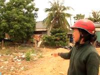 """Bình Định: Dân """"tố"""" xã thất hứa sau khi hiến đất xây dựng chợ"""