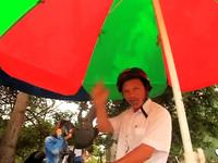 """Chủ tịch Hội Nông dân xã Mỹ Thắng: Đất này của địa phương tôi ông muốn chụp hình phải xin phép"""""""