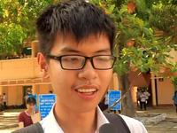 Bình Định: Thí sinh phấn khởi sau buổi thi Ngoại ngữ