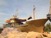 Bình Định: Vụ tàu vỏ thép hư hỏng: Tổng cục Thủy sản yêu cầu giám sát chặt chẽ việc sửa chữa