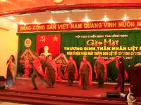 Bình Định: Gặp mặt xúc động của những người cựu binh từng vào sinh ra tử