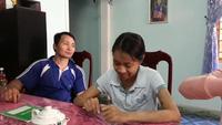 Bình Định: Mẹ nghèo xin hiến thận cứu con gái bị suy thận mãn