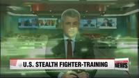 Tiêm kích tàng hình Mỹ diễn tập ném bom trên bán đảo Triều Tiên