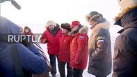 Tổng thống Putin khảo sát đảo ở Bắc Cực trong thời tiết -26 độ