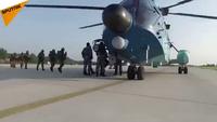 Xem lính dù Nga thả mình từ độ cao 1.200 m trong bài tập huấn luyện