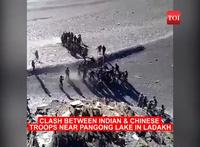Rộ video binh sĩ Trung - Ấn đấm đá túi bụi ở biên giới