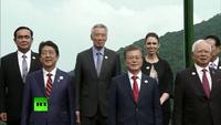 Các lãnh đạo APEC chụp ảnh lưu niệm chung tại Đà Nẵng