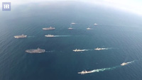 """3 tàu sân bay Mỹ đồng loạt phô diễn sức mạnh """"nắn gân"""" Triều Tiên"""