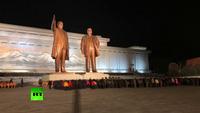 Hàng nghìn người Triều Tiên đặt hoa tưởng niệm ngày mất cố lãnh đạo
