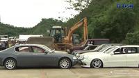 Tổng thống Philippines lệnh nghiền nát hàng loạt xe sang nhập lậu