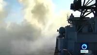 Dàn tàu chiến Nga tập trận bắn đạn thật trên biển Nhật Bản