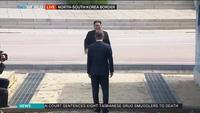 Ông Kim Jong-un bước chân qua ranh giới liên Triều