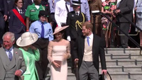 Công nương Anh Meghan lần đầu dự sự kiện sau đám cưới cổ tích