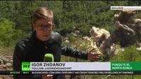 Vụ nổ khu thử hạt nhân Triều Tiên dưới góc máy phóng viên Nga