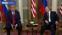 Tổng thống Trump - Putin bắt tay thân mật tại hội nghị thượng đỉnh đầu tiên