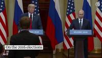 Những tuyên bố quan trọng trong họp báo của thượng đỉnh Trump - Putin
