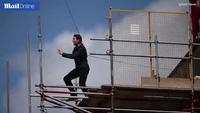 """Khoảnh khắc Tom Cruise bị thương trên phim trường """"Nhiệm vụ bất khả thi 6"""""""
