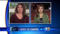 """Sửng sốt diễn viên và phóng viên… """"cãi nhau"""" ngay trên thảm đỏ (Clip của đài CBS - Mỹ)"""