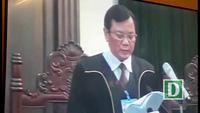 Tuyên phạt bị cáo Đinh La Thăng 13 năm tù, Trịnh Xuân Thanh án chung thân