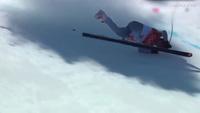 Vận động viên trượt tuyết Nga gặp tai nạn kinh hoàng ở Olympic