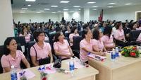Tháng 10 Hồng - Nâng cao nhận thức phòng bệnh về ung thư vú tại Huế