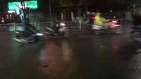 Người dân Huế đổ ra đường mừng đội tuyển Việt Nam với chiến thắng lịch sử lọt vào Bán kết Châu Á (nguồn: Le Thanh Quoc Anh)