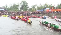 Sôi động lễ hội đua trải đầu xuân Mậu Tuất