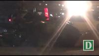 Tông vào đuôi xe container đậu bên đường, 2 người thương vong