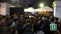 Cổ động viên Pháp mở hội ăn mừng chiến thắng lịch sử