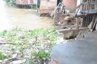 Sạt lở nghiêm trọng tại Vĩnh Long