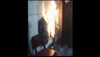 Lửa bốc cháy đầy bí ẩn nhà dân ở Long An