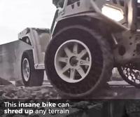 Ấn tượng công nghệ lốp xe không bao giờ vỡ hay thủng