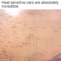 Những chiếc xe thay đổi màu sơn khi gặp nhiệt độ cao