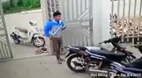 Nỗ lực chặn tên cướp xe máy bất thành của em bé