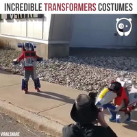 """Những bộ trang phục theo phong cách """"Người máy biến hình"""" cực ấn tượng"""