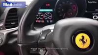 Cô gái lái siêu xe Ferrari gây tai nạn ngay sau khi rời đại lý